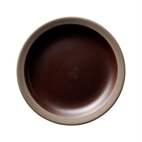 ハーベスト カカオブラウン 19cmケーキ皿    寸法:19.2φ×3H㎝