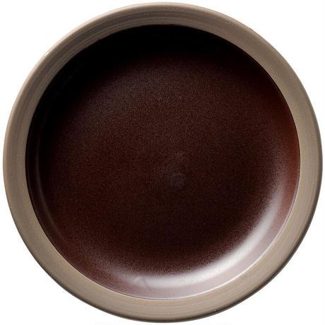 ハーベスト カカオブラウン 27.5cmディナー皿    寸法:27.6φ×3.7H㎝