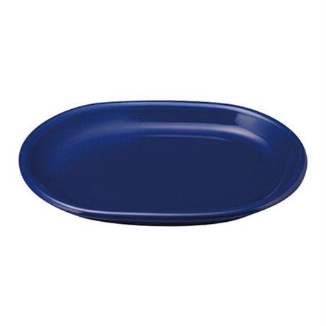 カントリーサイド サファイア 26cmプラター    寸法:26.2×18.2×2.7H㎝