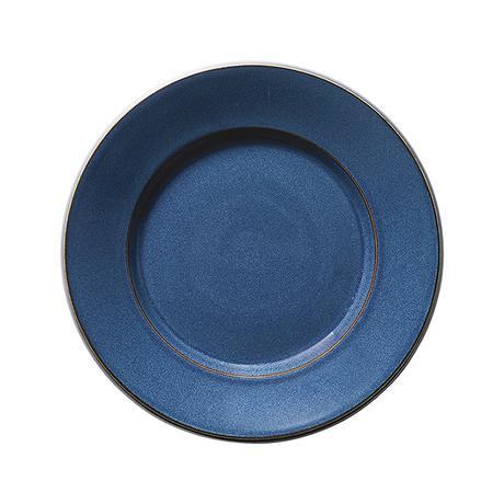 スパダ スカンジナビアンブルー 21cmプレート    寸法:21φ×3.1H㎝