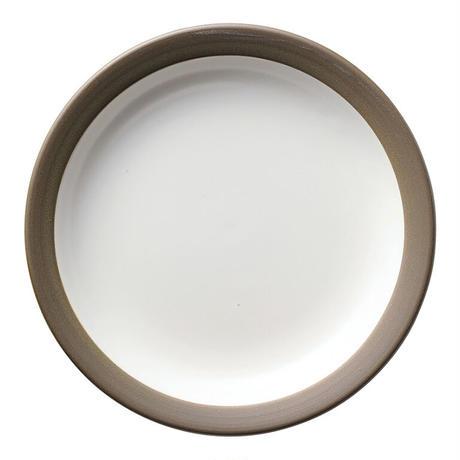 ハーベスト モーニングホワイト 24cmミート皿    寸法:24φ×3.3H㎝