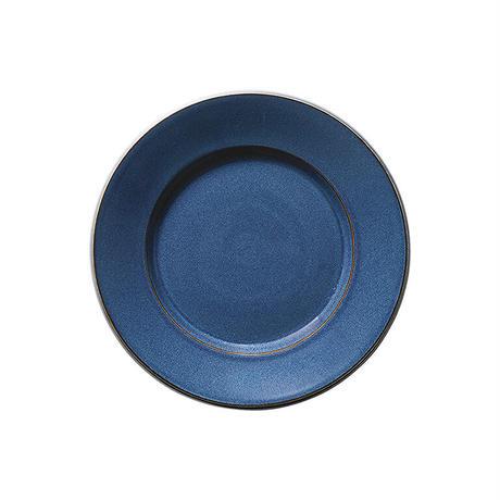 スパダ スカンジナビアンブルー 17.5cmプレート    寸法:17.5φ×2.4H㎝