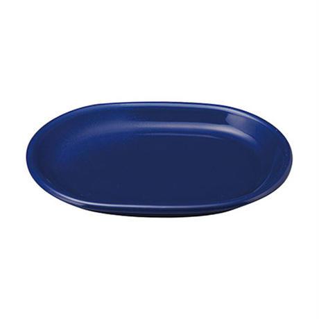 カントリーサイド サファイア 24cmプラター    寸法:24×17×2.7H㎝