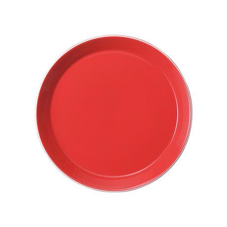 パシオン ロッサ 19.5cmプレート    寸法:19.6φ×2.4H㎝