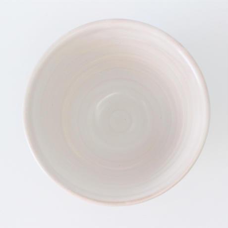 粉引  しのぎ飯碗    く09-107-38 寸法:11.5φ×7.7H㎝ 335g