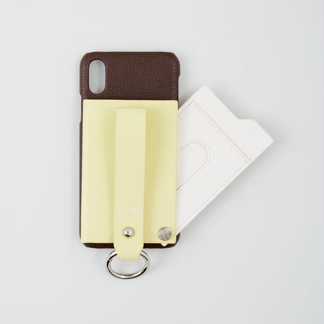 tov MIXY / iPhone case X/Xs  (Brown)