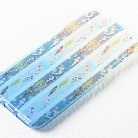 錦鯉マスキングテープ(紺)