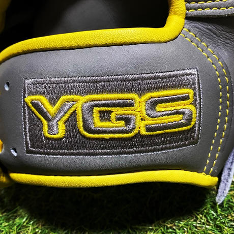 YGSセンスシリーズ 軟式外野用 YO51 グレー×イエロー