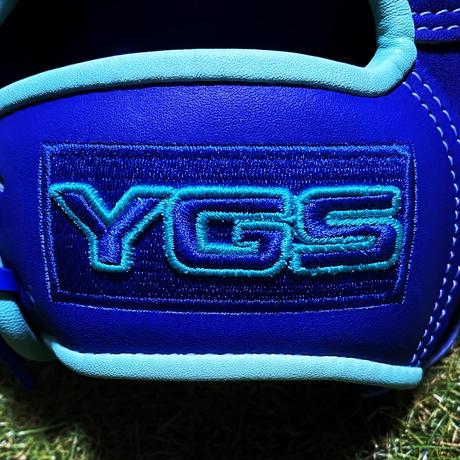 YGSセンスシリーズ 軟式投手用 YP2 ブルー×パステルブルー
