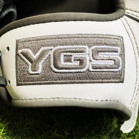 YGSセンスシリーズ 軟式内野用 YI17 ホワイト×グレー