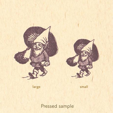 STAMP   - 小人のおじさん large -