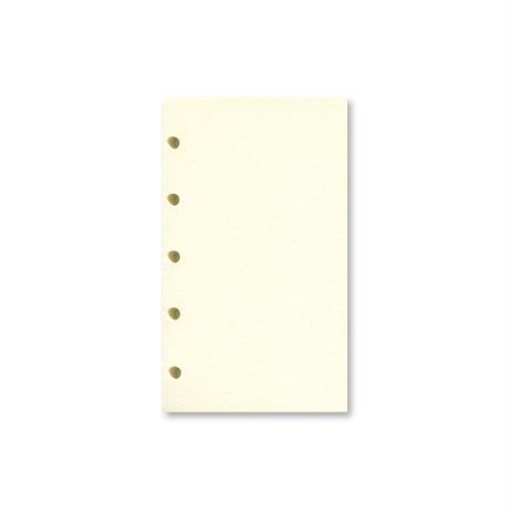 【現在庫限り坪量:80g/㎡】M5 天のり リフィル用紙 ニューシフォンクリーム