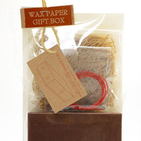 WAX PAPER GIFT BOX no.02