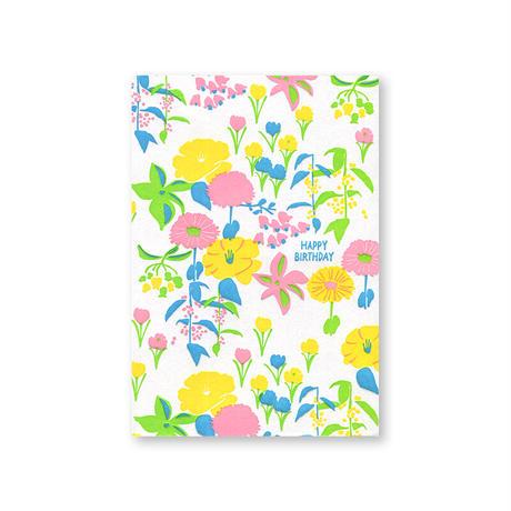 LETTERPRESS CARD 17 FLOWER
