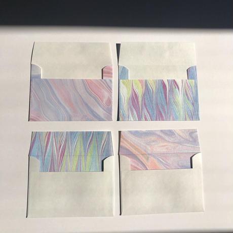 【限定商品】マーブル封筒セット(ランダム)