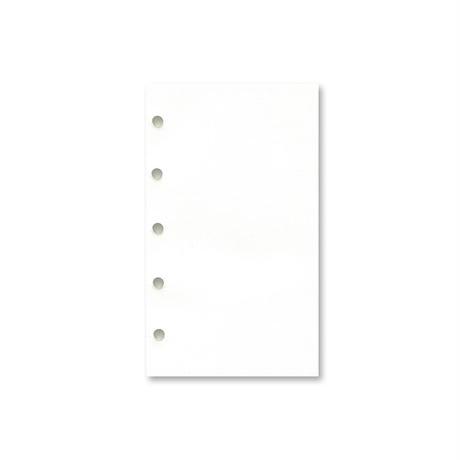 M5 天のり リフィル用紙 トモエリバー手帳用 白
