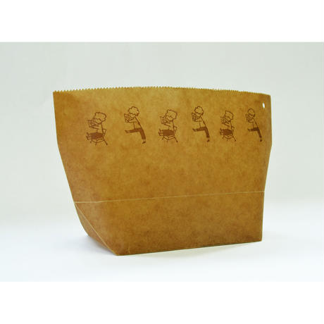 WAX PAPER MARCHE BAG  keep reading