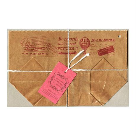 WAX PAPER MARCHE BAG  air mail