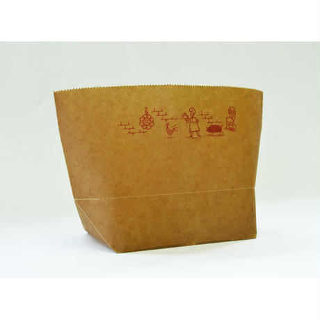 WAX PAPER MARCHE BAG  cook
