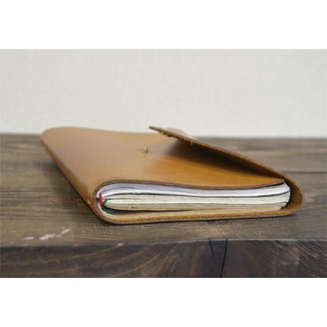 DAKOTA LEATHER COVER includes PLAIN THREE NOTEBOOKS