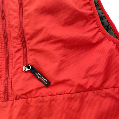 """Puffball Vest """"Fire"""" by Patagonia 2001 Fall"""