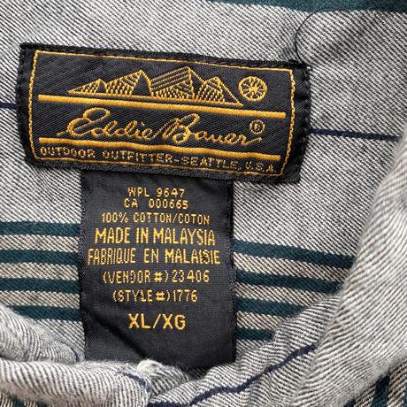 90's Eddie Bauer 4Stripes Shirt