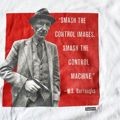 WILLIAM ・S ・BURROUGHS Tee by Supreme