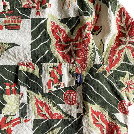 stussy Seersucker Hawaiian Shirt