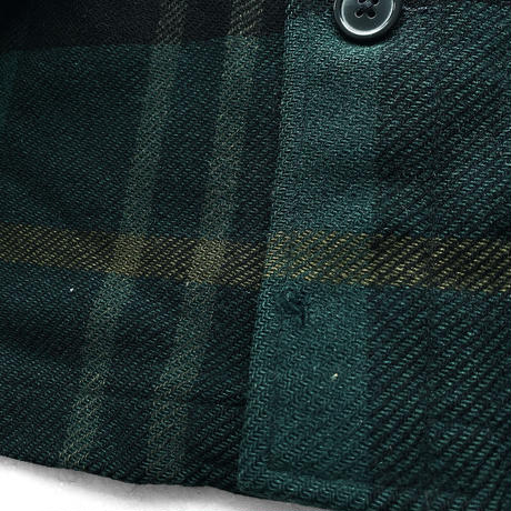 70's Pendleton Wool JKT BLK/GRN