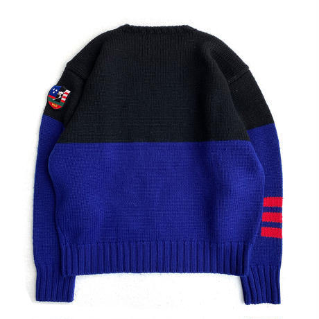 POLO SKI DOWNHILL SKIER Sweater