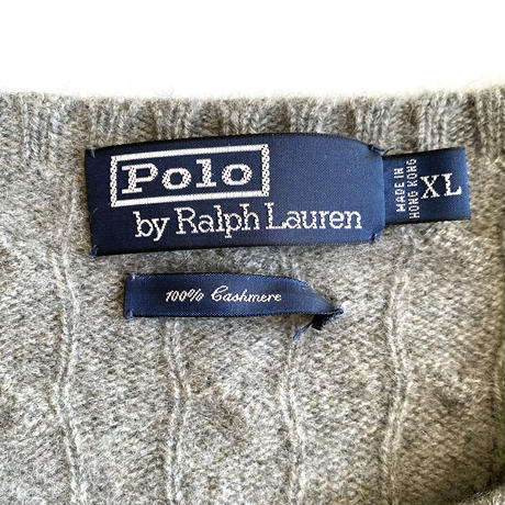 Polo Cashmere Sweater Gray
