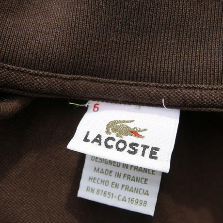 LACOSTE POLO Made in France
