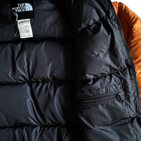 """Nuptse JKT """"Safety Orange"""" by THE NORTH FACE"""