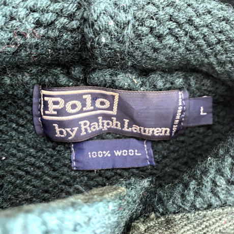 POLO Wool Knit Hoodie