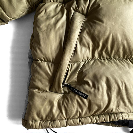"""Nuptse JKT """"Tumbleweed Green"""" by THE NORTH FACE"""