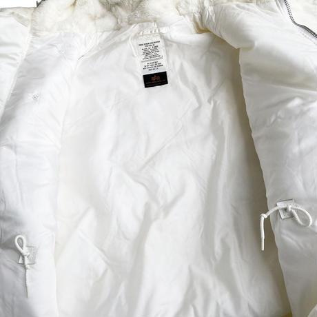 N-3B White by ALPHA Dead Stock