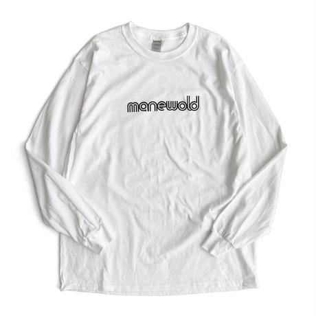 instruction L/S Tee -manewold- WHITE