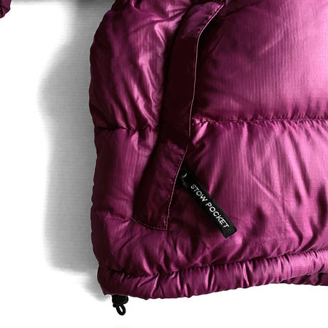 """Nuptse JKT """"Plum"""" by THE NORTH FACE"""