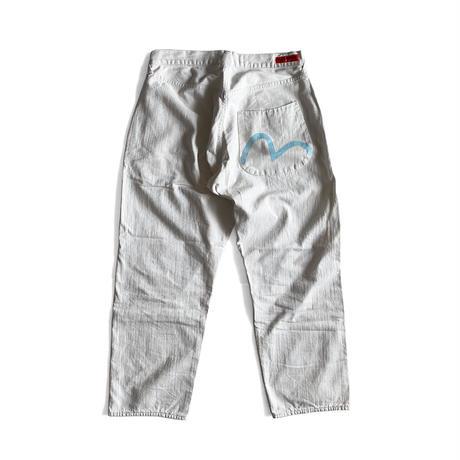 EVISU White Jeans