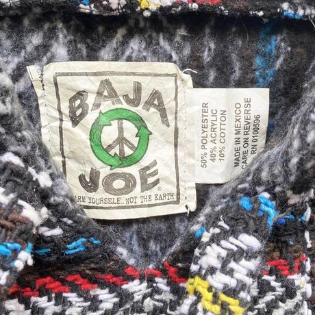 BAJA JOE Drug Rugs MEXICAN PARKA Tricolore
