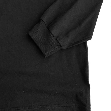 instruction L/S Tee -manewold- BLACK