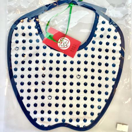【久光舎】りんごのスタイ(タオル生地)