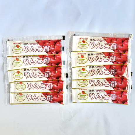 ハチミツ入 りんご酢スティックタイプ 20ml×10本入 【カネショウ】