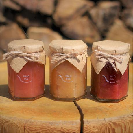 【セレクト】halojamの彩りりんごジャム3種類セット