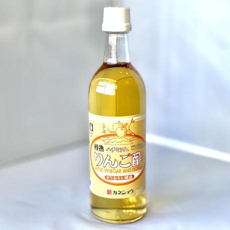 樽熟 ハチミツ入 りんご酢 500ml 【カネショウ】