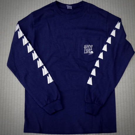 【新色追加】ENJOY YAMA LIFE ロングTシャツ【d-iZe】