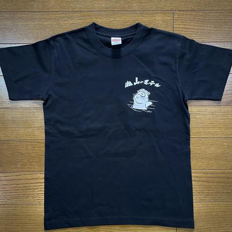 【2021新作】山のホテル・NEWマタギ飯Tシャツ<Black>
