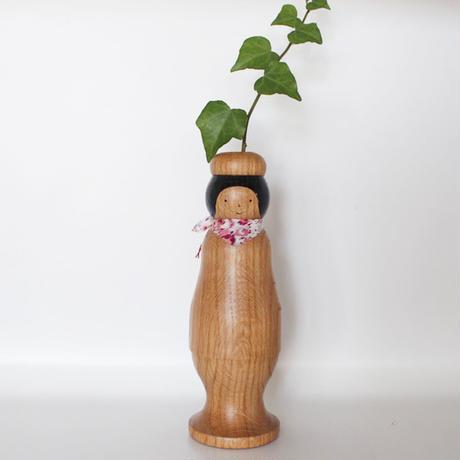 ほろほろ人形「花びん」 スカーフ
