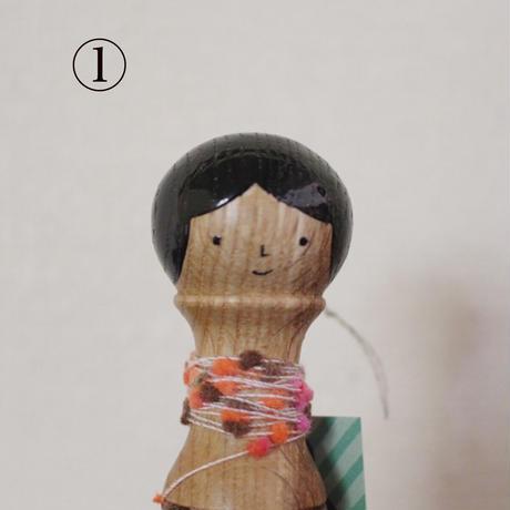 ほろほろ人形「糸巻き」long