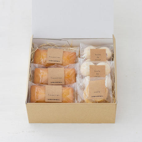 人気の焼菓子1500円セット